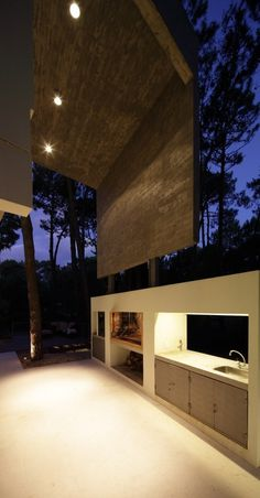 Fresno House / Felix Raspall + Federico Papandrea #outdoor #kitchen