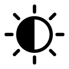 See more icon inspiration related to sun, light, weather, star, brightness, ui and illumination on Flaticon.