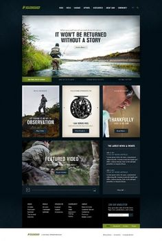 Sage Fly Fishing on Web Design Served #website