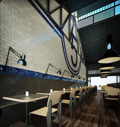 Shed-5-by-restaurant-Loop-Creative-Melbourne-05 #interior #brick #design #restaurant #industrial