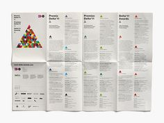 » Delta Awards 2011 Flickrgraphics #layout #design #graphic