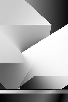Black and White 6 #white #structure #geometric #black #gradation #architecture #minimal #poster #and