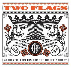 Two Flags Clothing – Ilovedust – Illustrators & Artists Agents – Début Art #ilovedust