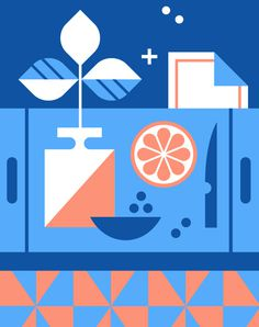 EHD, eight hour day, minneapolis, facebook, design, illustration, shape, geometric