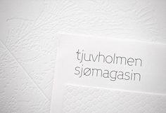 Design Work Life » Work in Progress: Tjuvholmen Sjømagasi #typography
