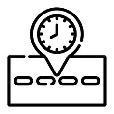See more icon inspiration related to time, gps, maps and location, street map, map pointer, map point, map location, placeholder, route, position, pin, map and location on Flaticon.
