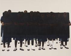 Meleko Mokgosi | PICDIT #painting #art