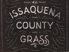 Issaquena #lettering