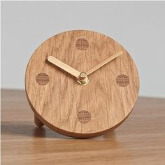 Accessories: Holidays, Bath, Children's Room, Outdoors, Objects : Remodelista #wood #grain #clock
