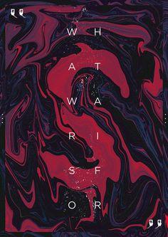 Thursday Posters – Oil