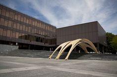 Pavilion / EmTech (AA) + ETH Pavilion (1) – ArchDaily #pavilion #plywood #architecture #emtech