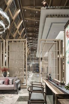 Fuzhou Taihe Qingyun Sales Center / Shanhejinyuan Art Design