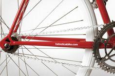 Helvetica Bike by Borja Garcia Studio #bicycle #bike #cycling #helvetica #typography