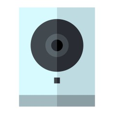 See more icon inspiration related to cctv, camera, video, security camera, security system, surveillance, video camera, recording, security and technology on Flaticon.
