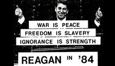 Reagan '84 | Flickr - Photo Sharing! #1984 #hardcore #reagan #1980s