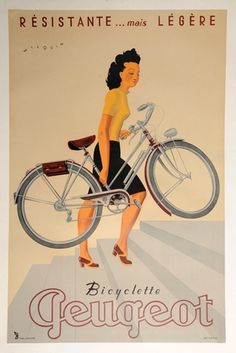 Rik #print #vintage #bike #typography