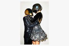daft punk gisele wsj magazine 6 #punk #helmets #daft #photography #terry #richardson #fashion
