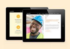 Petronia City Website design