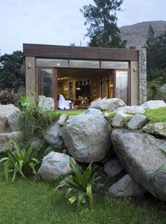 Chontay Stone House in Peru by Marina Vella Arquitectos