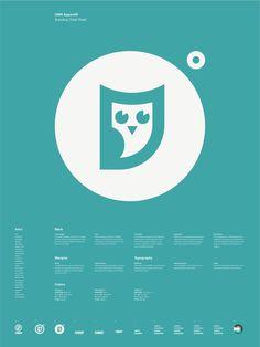 Universal Branding System Poster (OMG Apparel)