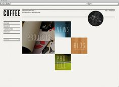 Makearea :: Coffee #coffee #design #web #page
