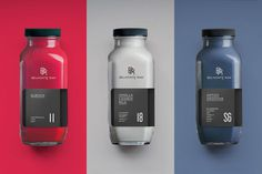 Packaging, bottle, color, modern, minimal