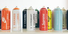 HYPEBEAST. Online Magazine for Fashion, Arts, Design and Culture #graffiti #nice #supreme #colors #chanel #spray #green