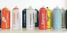 HYPEBEAST. Online Magazine for Fashion, Arts, Design and Culture #graffiti #nice #supreme #colors #chanel #spray #green