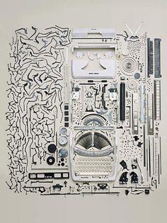 Art & Photography: Todd McLellan | Feature Shoot #mclellan #typewriter #todd