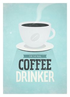 Art for Kitchen wall decor Coffee print A3 For The by NeueGraphic #print #art #typography #poster #coffee #neuegraphic