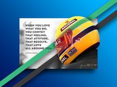 #author #ayrton #senna #blue #brasil #formula1 #green #interface #quote #strokes #ui #widget #yellow #brasil