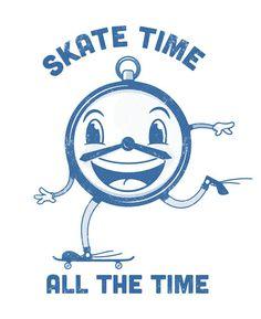 Designersgotoheaven.com Skate byStoere Zeebonk. #illustration #skateboarding
