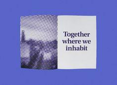 Together where we inhabit - Thomas Green / Bench.li #print #design #graphic #publication #typography