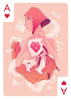 Card Design for Ace of Hearts
