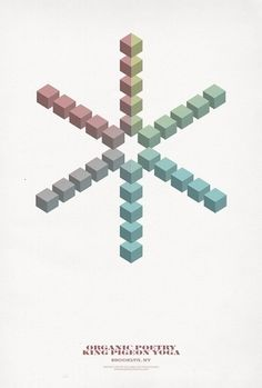 POSTERS III on the Behance Network #poster #cube