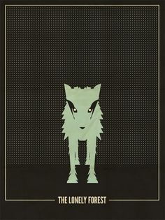 All sizes | The Lonely Forest | Flickr - Photo Sharing! #minimalist #band #poster