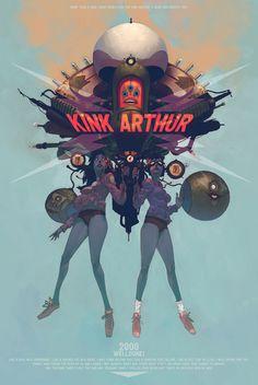 kink arthur by honkfu on deviantART #arthur #kink