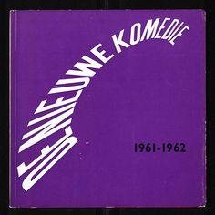 (1) Tumblr #lettering #book #cover #distortion #vintage #type #komedie