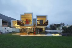 Ancestral Contemporary Architecture: 3D-Like Volumes Defining a House in Peru #architecture #contemporary #3d-like