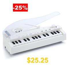 Kids #Multifunction #Mini #Piano #HiFi #Sound #- #WHITE