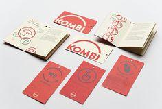 Kombi branding #visual #identity #branding #stationery