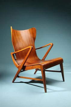 Design (Armchairs, designed by Carl Axel Acking, Sweden. 1950's. Via stanpolito) #carl #chair #acking #furniture #axel