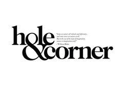 Hole & Corner   Andreas Neophytou