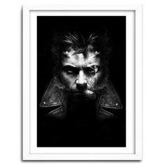 IMMORTAL WOLVERINE by Nicolas Obery FANTASMAGORIK #print