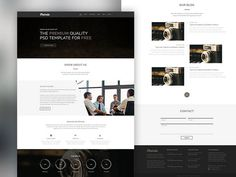 One Page Corporate Agency
