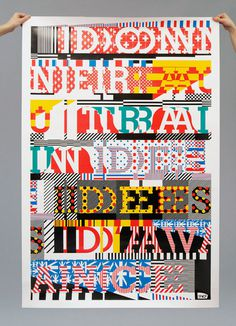 Richard #type #collage #poster