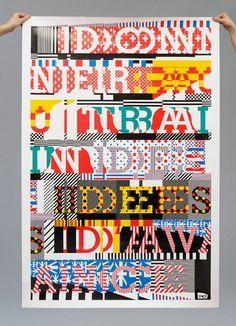 Richard #type #collage #poster