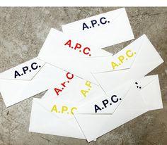 A.P.C. Envelopes #apc