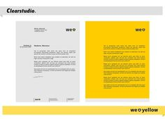 All sizes | We Love Yellow — en-tête de lettre | Flickr - Photo Sharing! #entete #yellow #lettre #de #identity #letterhead