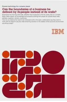 Lamosca . IBM #layout #geometry #ibm #ad